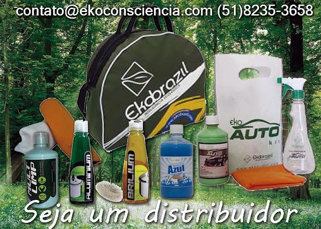 Ekobrazil Ekoauto Produtos de Limpeza Ecologica Oportundidade Renda Extra
