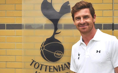 Andre Villas-Boas as Tottenham coach