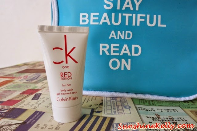 CK One Red for Her Body Wash, Stay Beautiful & Read On Bag of Love, Bag of Love, CK One Red, Uberman Hydrating MIst, Hove Hair Intense Repair, Miacare Acne Patch, Covo HD BB Cream, Human Nature, Overnight Elixir, Mask of Love, Unico, Philosophy, Hope in a jar, Nuxe nirvanesque, beauty bag