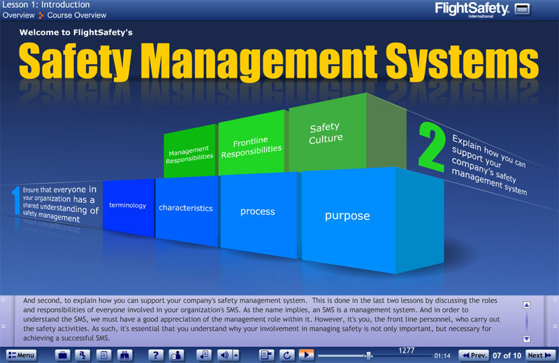 safety management systems in the A safety management system should have an information classification scheme of four-level authentication to increase the confidentiality and reliability of the data at this authentication level, data is private, sensitive, critical and confidential proper security controls such as authentication, encryption, monitoring, archiving, recovery.