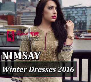 Nimsay Autumn Winter Dresses 2016-2017 For Girls