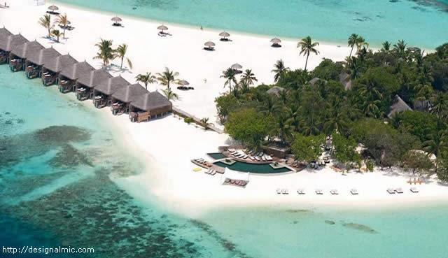 Resort e Ilha Constance Moofushi, Maldivas / Maldives Island