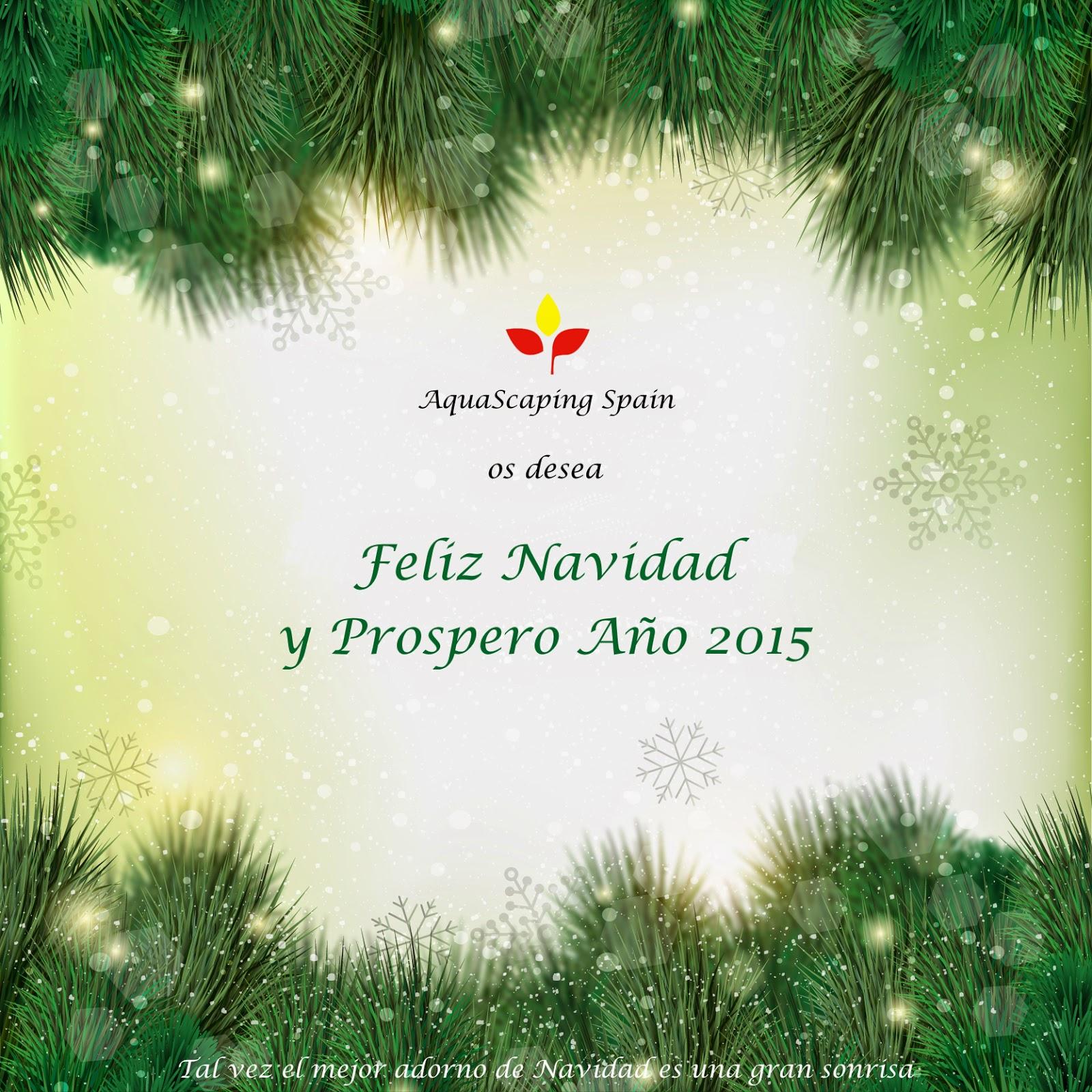 Aquascaping spain feliz navidad y prospero a o 2015 - Aquascape espana ...