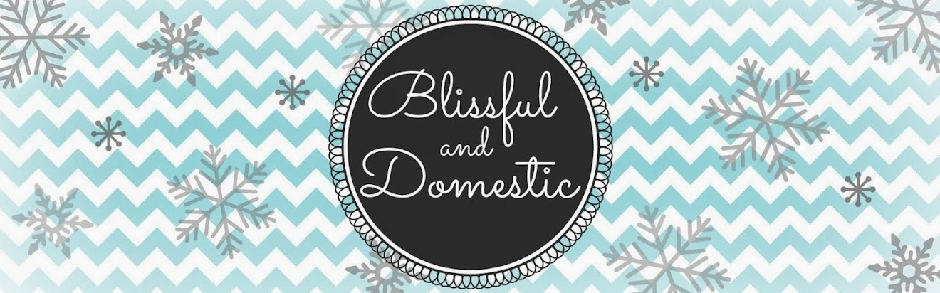 Blissful and Domestic- Thrifty Living and Big Smiles