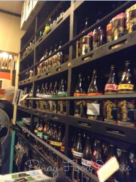japanese rice wine sake collection in makati