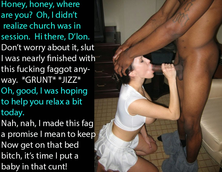 sissy captions Forced cuckold