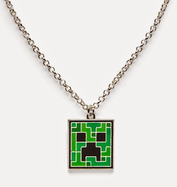 9. Minecraft Necklace