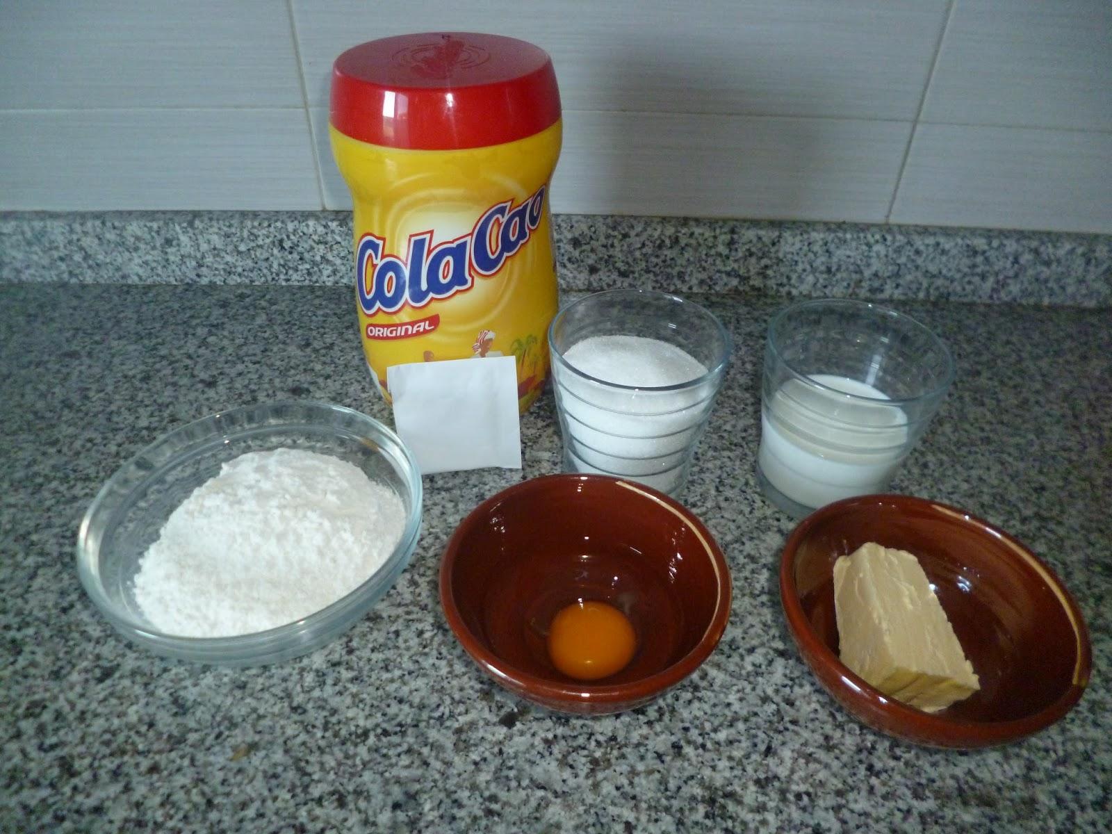 Cocina y reposteria con arkaitz y leire cupcakes de cola cao for Cocina y reposteria