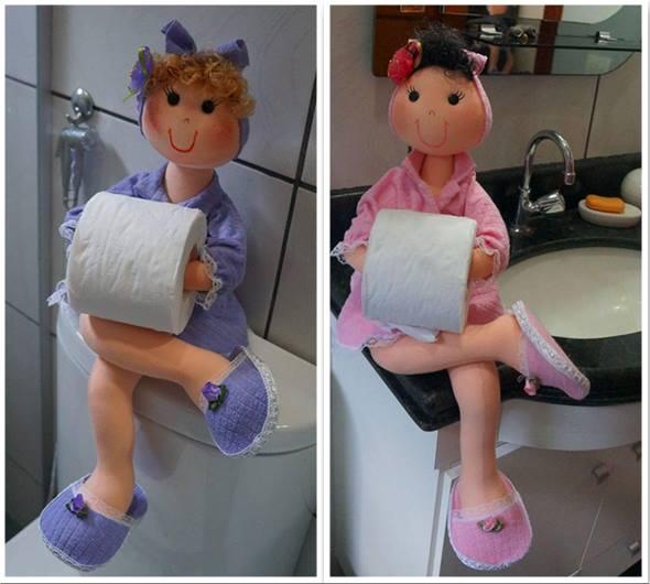 Держатель для туалетной бумаги кукла своими руками