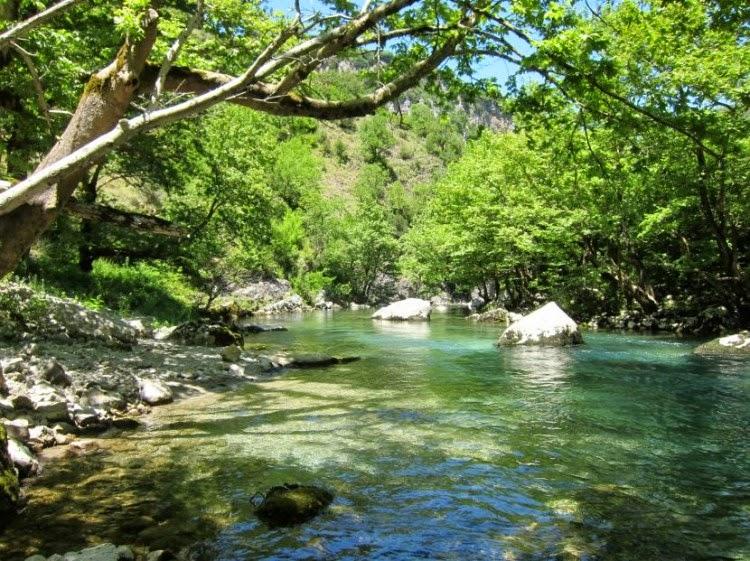 Греция река