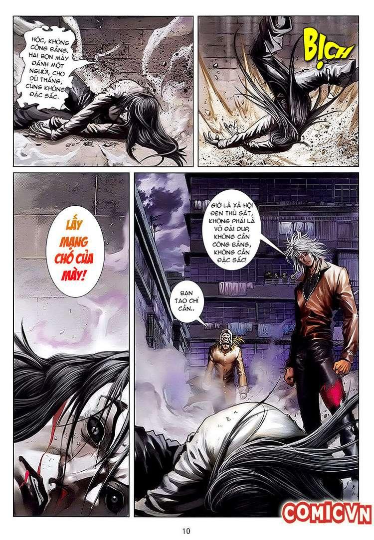 Cửu Long Thành Trại chap 32 - Trang 9