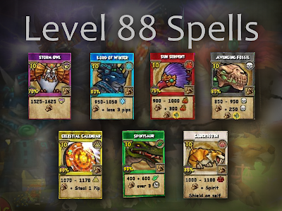 Wizard101 Level 88 Spells