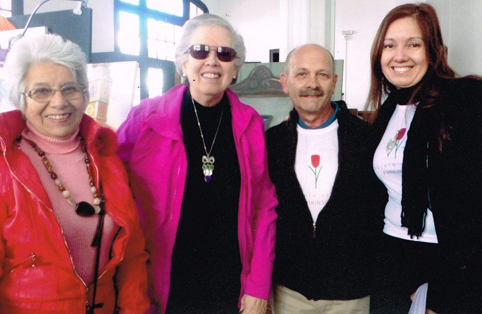 Sarita Barros, Sonia Alcalde e Eleonora Machado