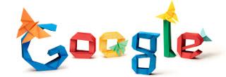 Google celebrating Akira Yoshizawa's 101st birthday today by doodle logo