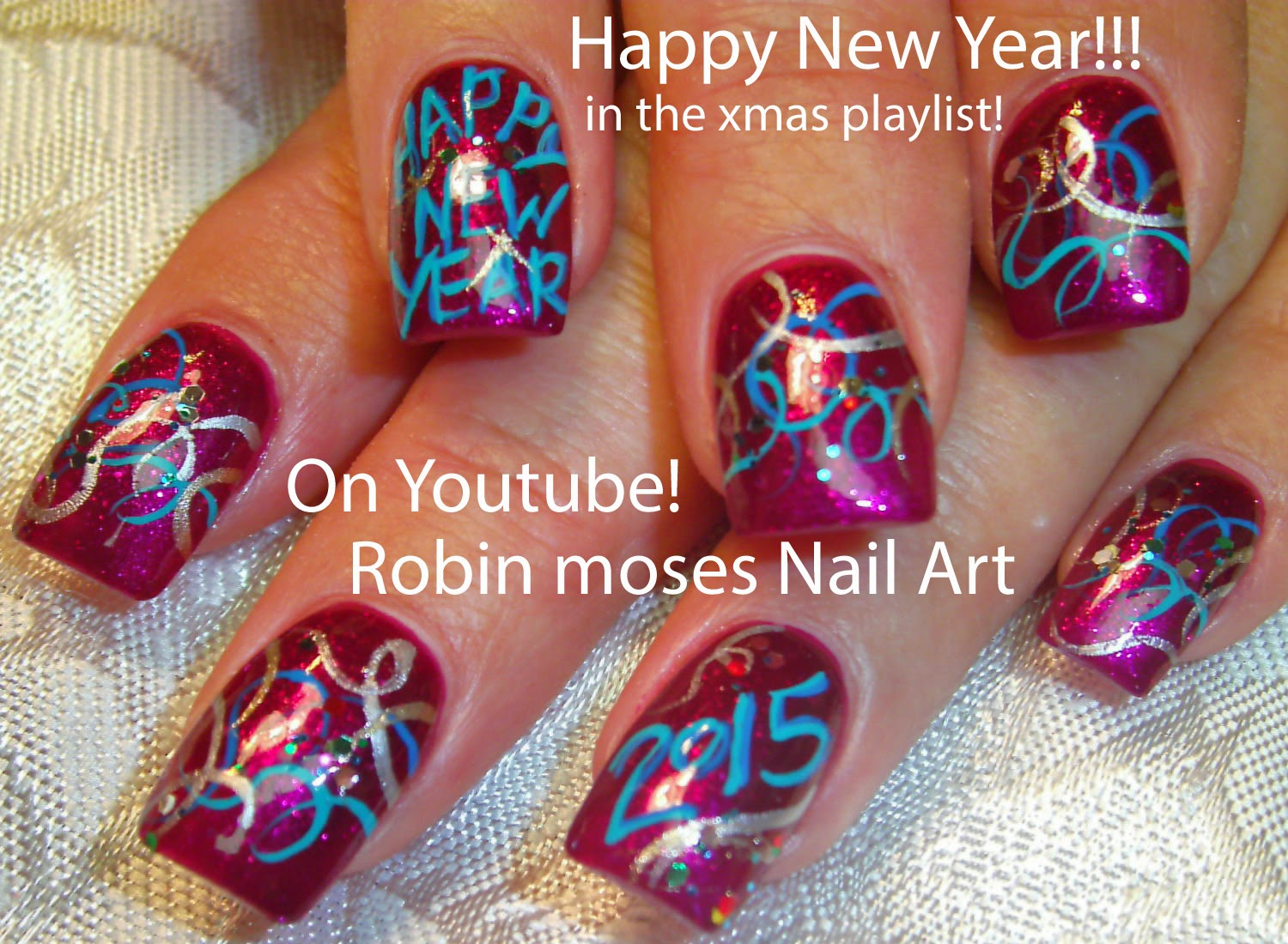 Robin moses nail art new years nails nye nails nail art new years nails nye nails nail art new years new year ideas new year clip art new years eve happy new year prinsesfo Images
