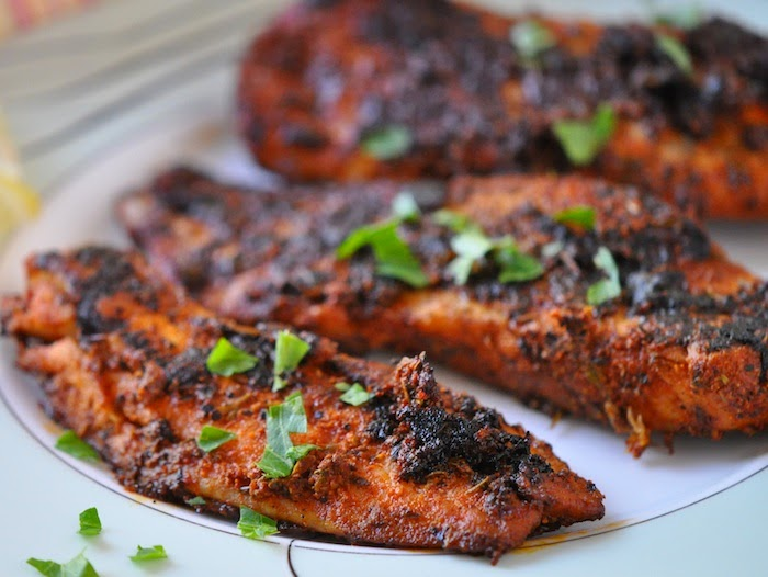 Pictures cajun blackened seasoning recipe the spruce for Blackened fish recipes