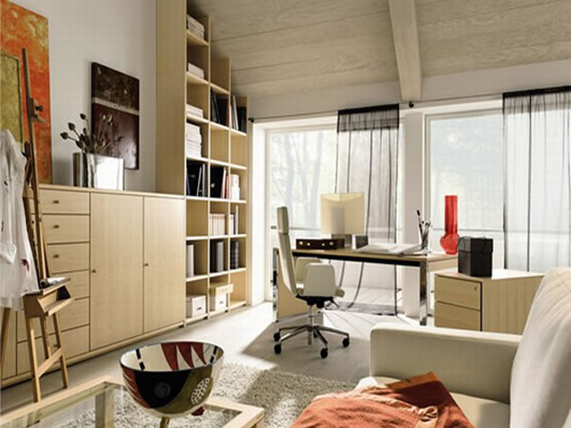 Home office ideas on a budget Modern home office design ideas pictures