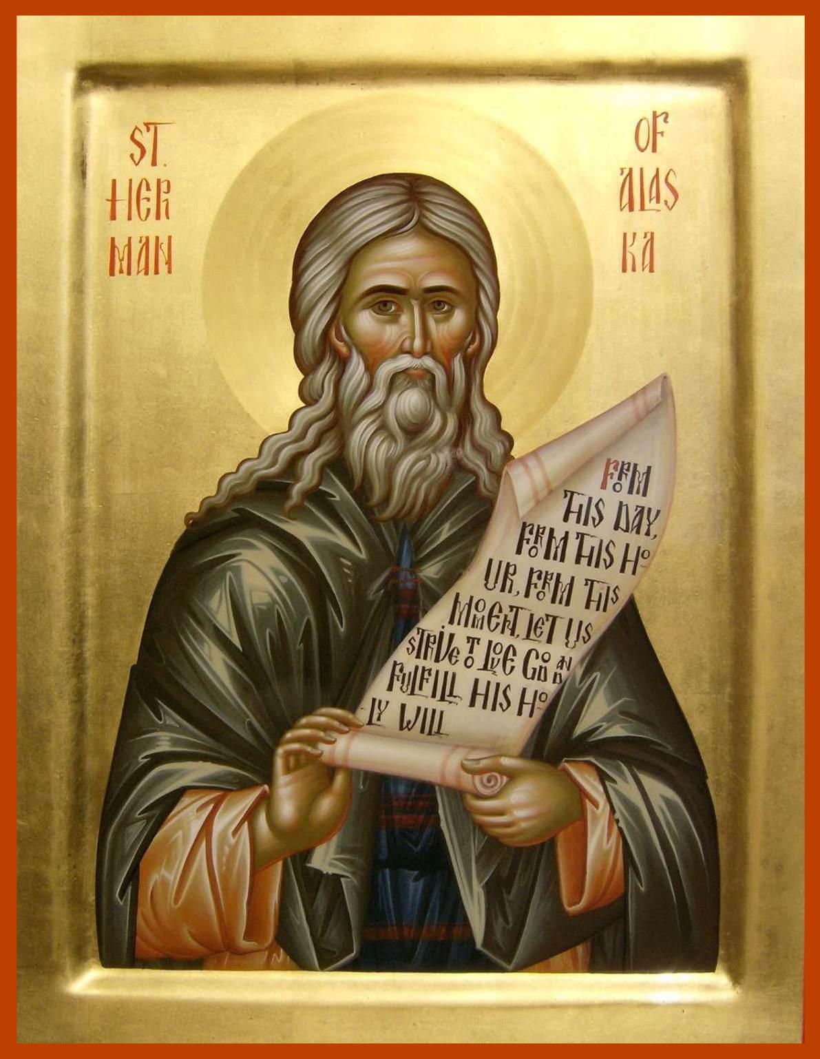 Ikona św. Hermana z Alaski