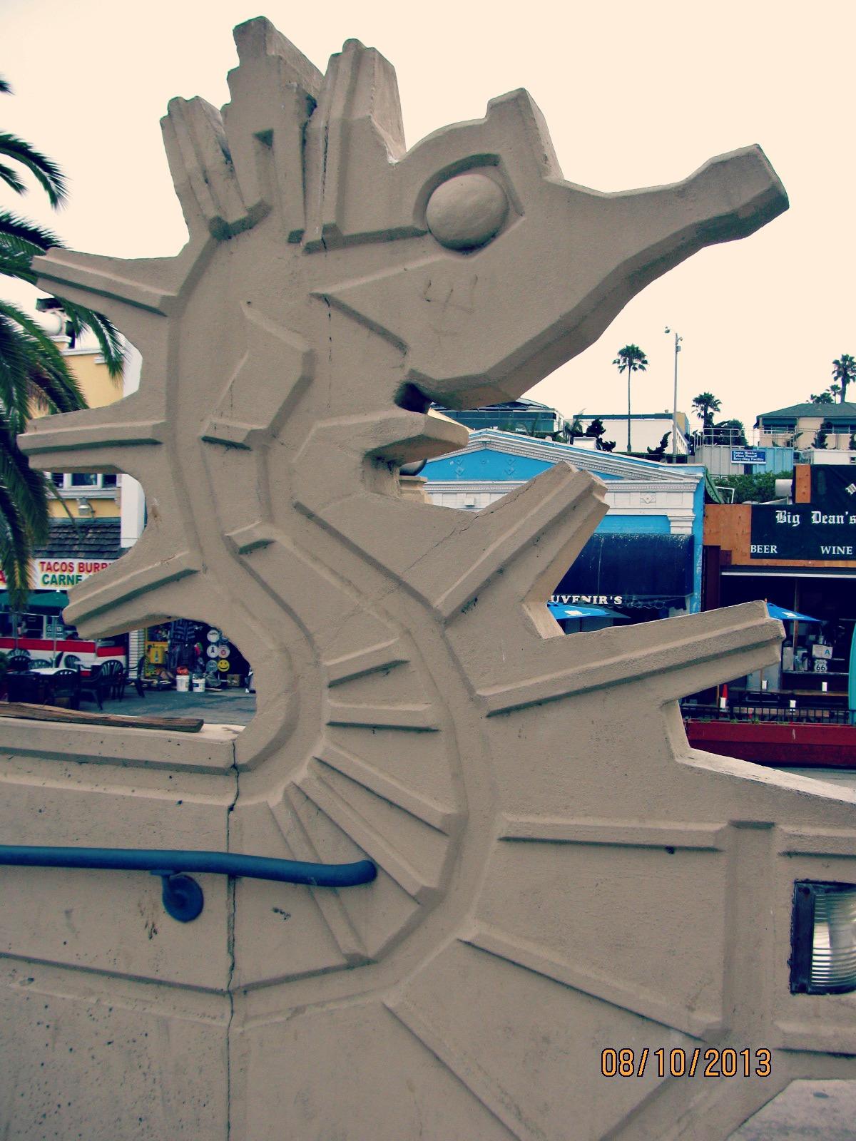 Santa Monica Biking // Stone Seahorse