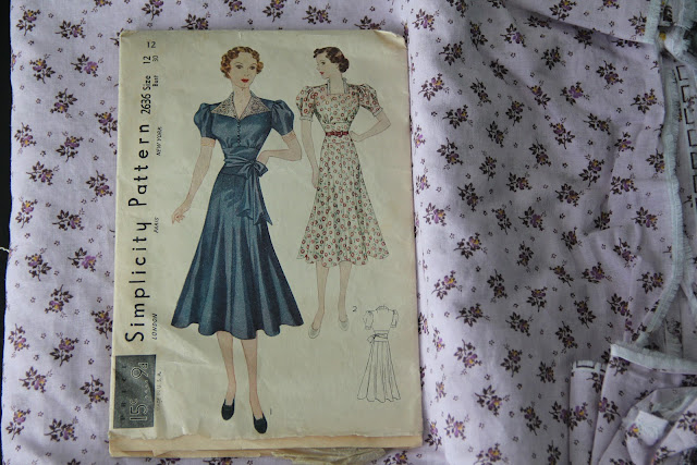 Simplicity Pattern 2636 from 1938