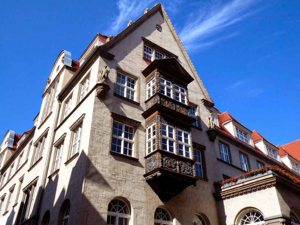 Some other nice-looking house in Halle; there's lots of them.