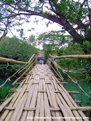 hanging bridge loboc bohol