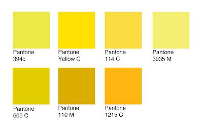 Yellow Pantone
