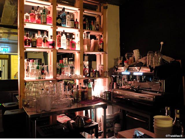 Avek bar à cocktails rue Saint-sauveur à Paris nouvelle rue bars branchés cool Paris