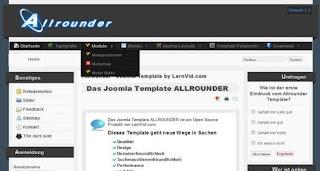 Allrounder Free Joomla 1.6 Template