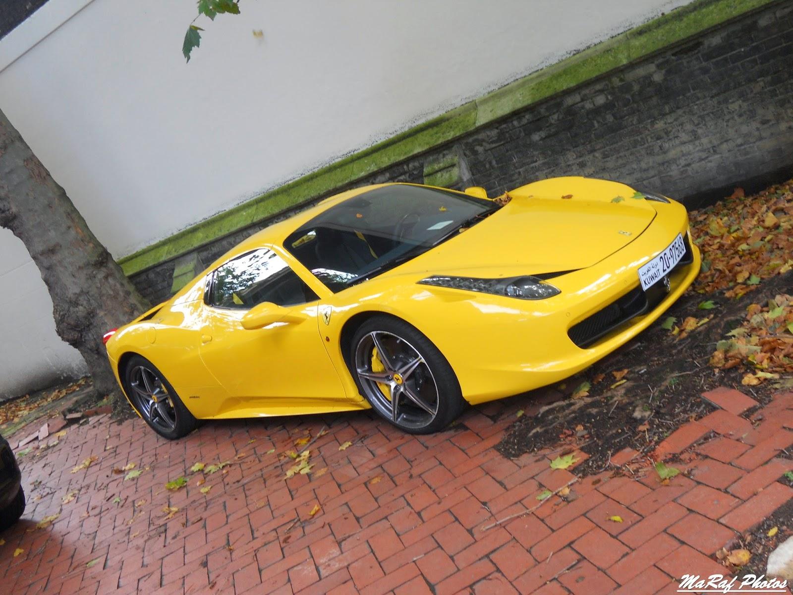 In Fact, Itu0027s Not Difficult Meet Various Rolls Royce, Ferrari Or  Lamborghini From Dubai, Qatar Or Kuwait. This 458 Spider In Classic Ferrari  Yellow Comes ...
