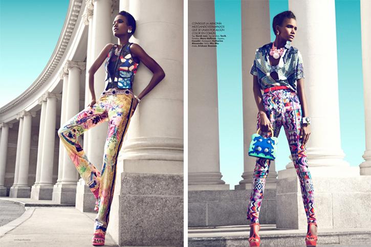 Tavik pants, Casadei ethnic, Miu Miu ethnic, Mara Hoffman ethnic pants, ethnic luxury, Derek Lam SS12