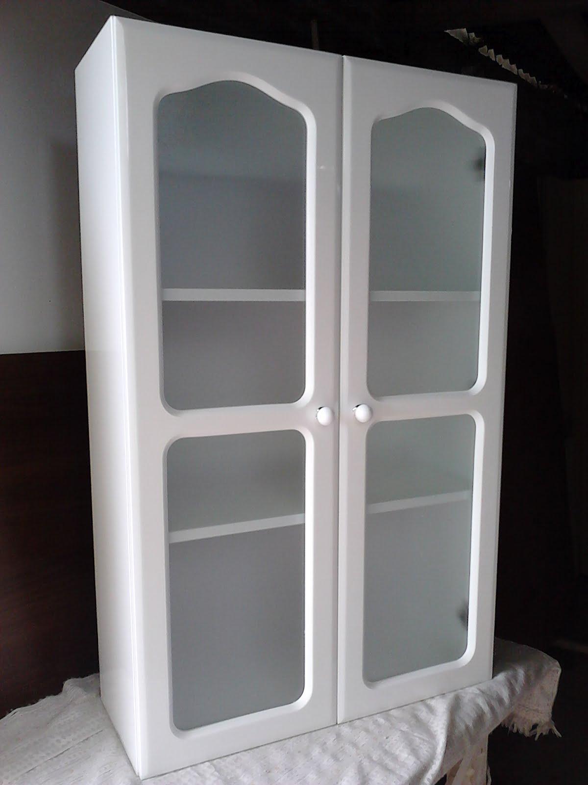mobilack alacena para ba o puerta con vidrio difuso