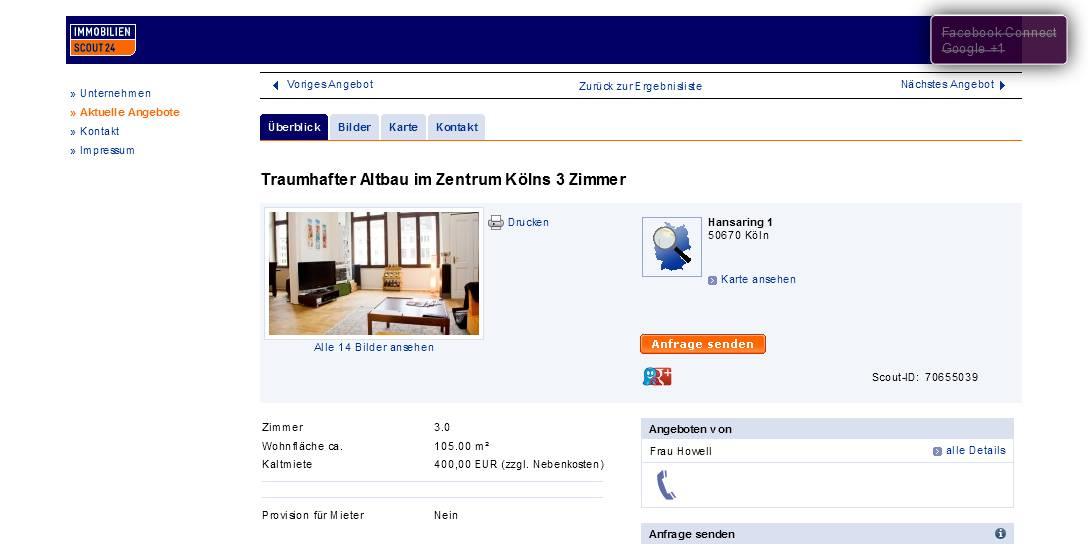 2 Zimmer Wohnung Bremen