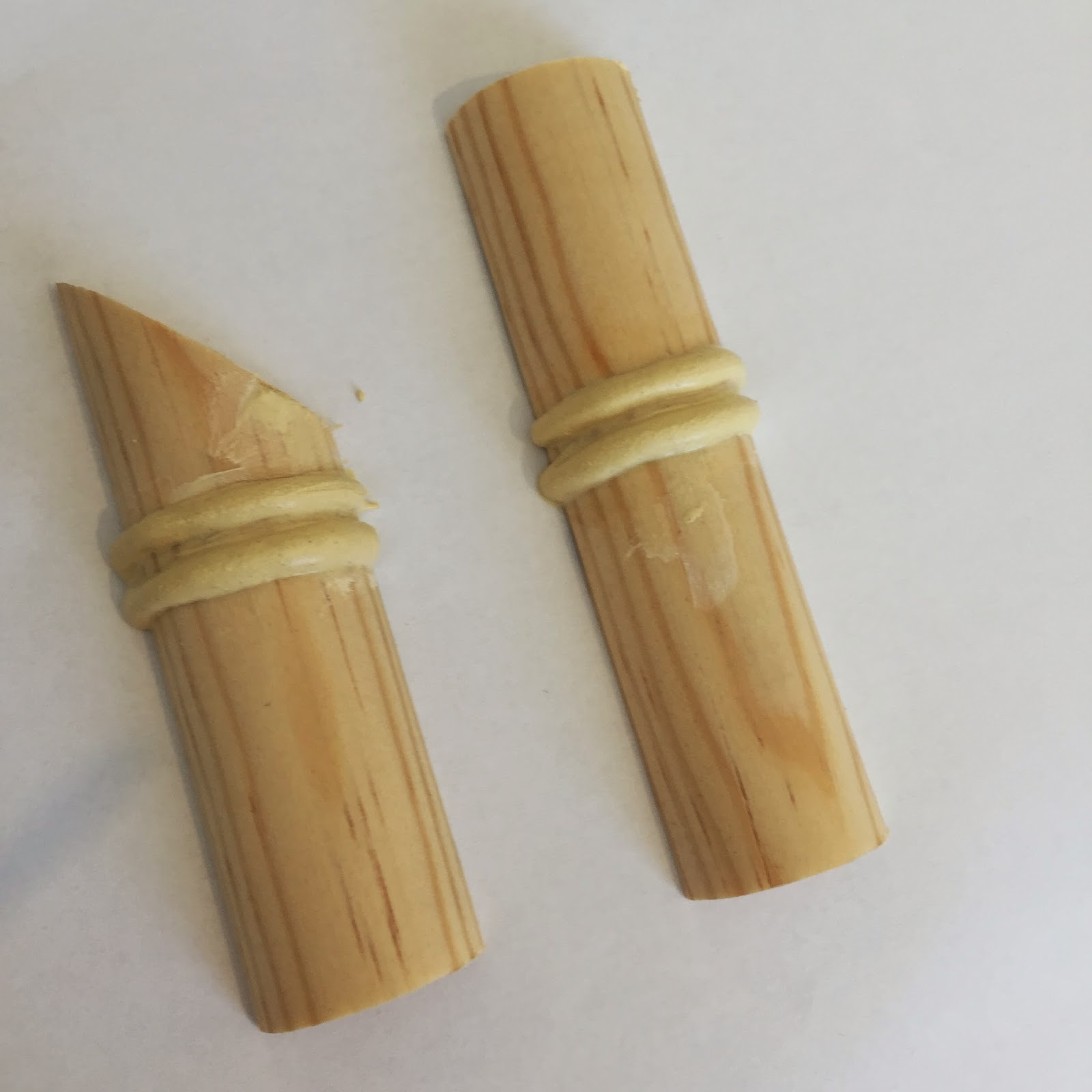 Gorgeous shiny things diy faux bamboo moulding for Making bamboo things