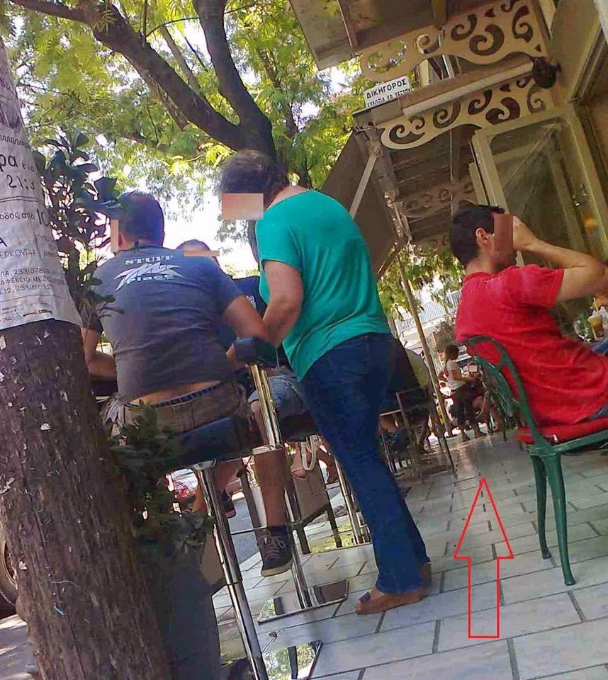 Τα διακιώματα των καφετεριών στα πεζοδρόμια και τους πεζόδρομους