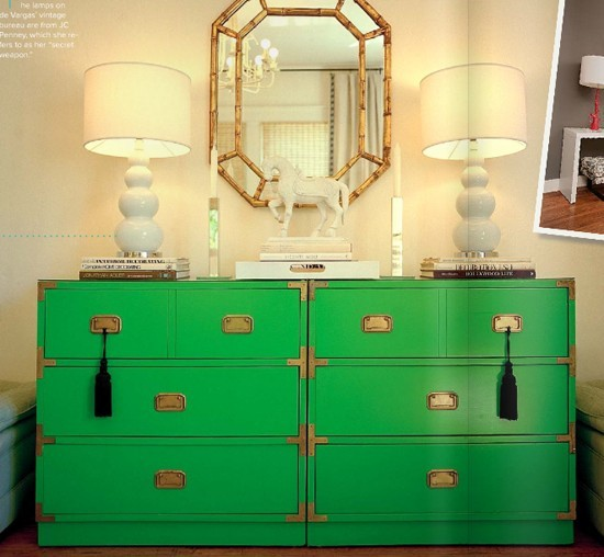 photo lonny bright painted furniture
