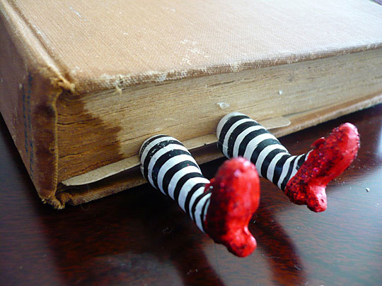 Funny Leg Bookmark