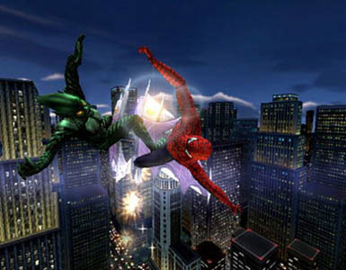 Spider-Man: The Movie Game Screenshot