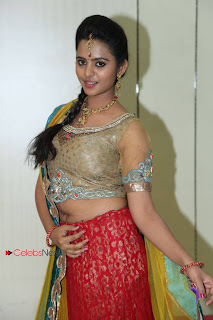 Manasa Pictures in Designer Dress at Kalanikethan New Wedding Collections Event  0014