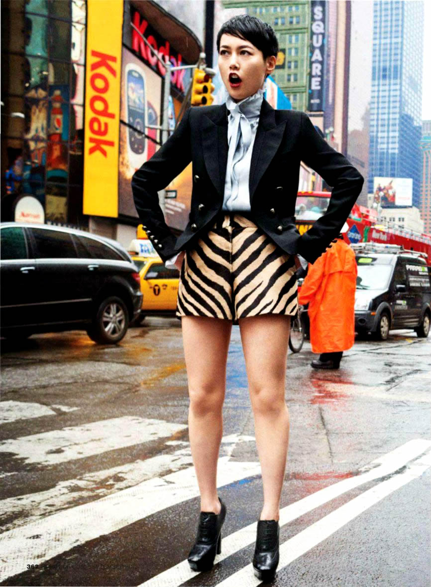 Rinko Kikuchi by Jason Nocito Magazine Photoshoot For ...