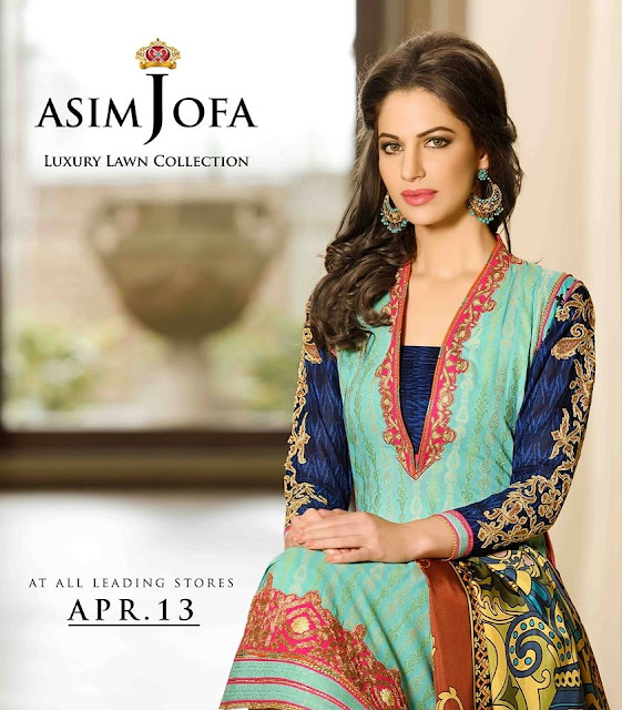 Eid collection by Asim Jofa 2015