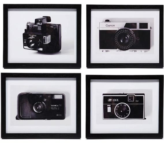 Urban Outfitters Vintage Camera Prints