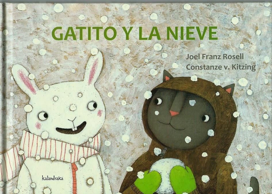 """""""Gatito y la nieve"""" (Petit Chat et la neige)"""