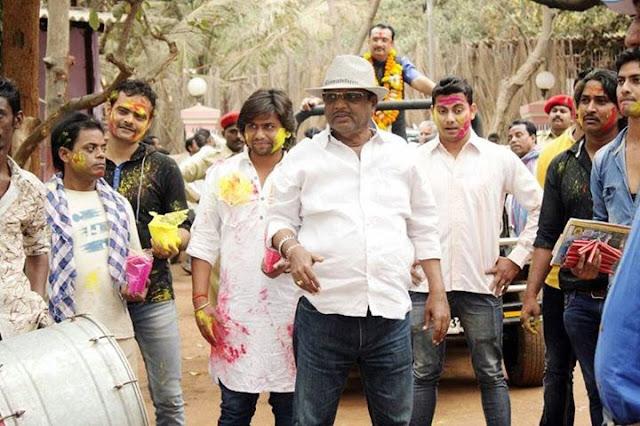 Shooting Photo of Bhojpuri Movie Sangram