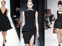 Küçük siyah elbiseden seksi siyah elbiseye