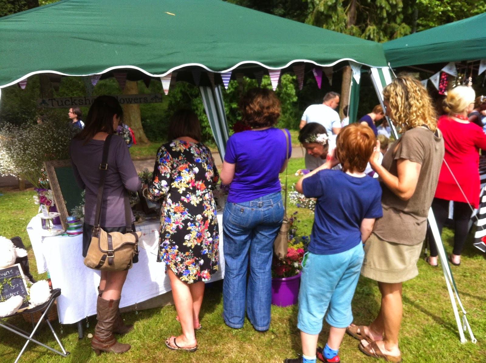 The crowns proved popular at the festival