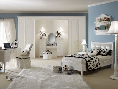Painting Ideas  Bedrooms on Modern Home Decorating Home Decorating  Girls Bedroom Wall Paint 2011
