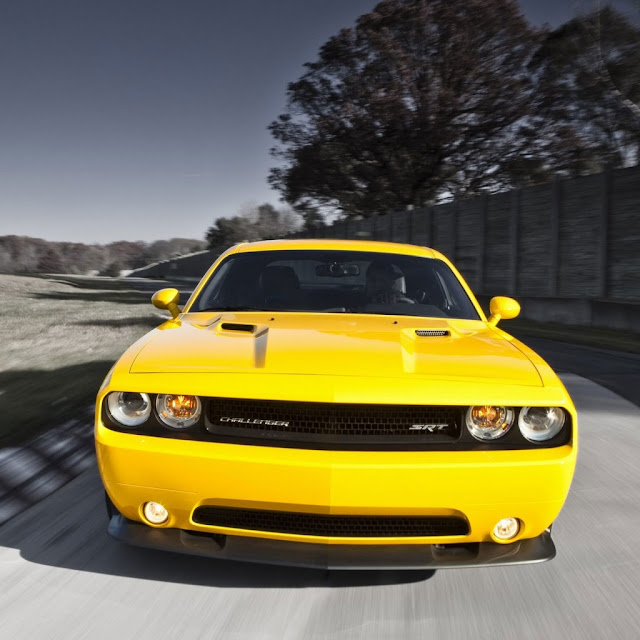 iPad Wallpaper - Dodge Challenger