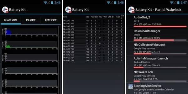 Battery Kit app screenshot