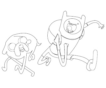 #1 Finn Coloring Page